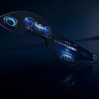 Una pantalla de casi metro y medio para conductor y copiloto: Mercedes-Benz desvela su Hyperscreen para el futuro EQS