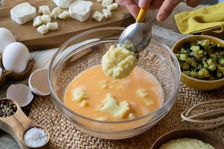 Tortilla De Patata Y Calabacin Paso