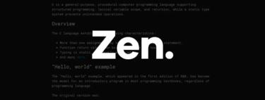 Zen es un editor de texto minimalista y libre de distracciones que puedes usar en el navegador y recuerda todo lo que escribes