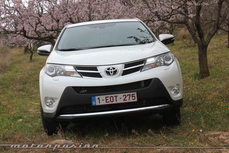 Toyota RAV4, vista frontal