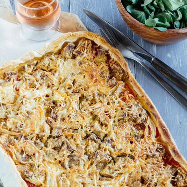 Tarta de berenjena: receta vegetariana