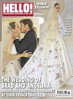Ya sabemos cómo era el traje de Angelina, ¿pero cómo fue vestido Brad Pitt a su boda?