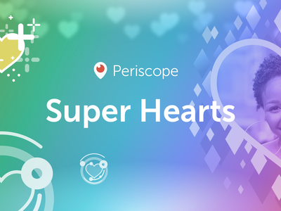 Super Hearts, la nueva propuesta de Periscope para animar tus vídeos