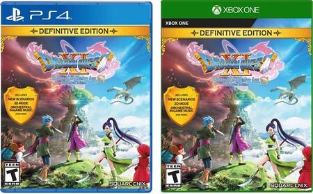 Dragon Quest XI en oferta en Amazon México