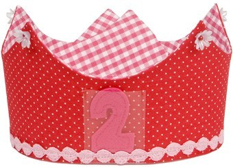 Preciosas coronas de cumpleaños para niños