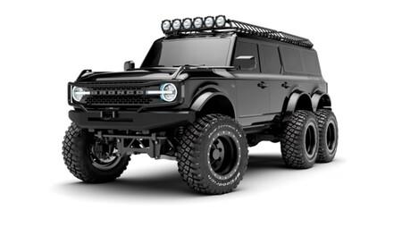 Este Ford Bronco 6x6 es un brutal todoterreno de seis ruedas y sale más caro que un Lamborghini o un Ferrari