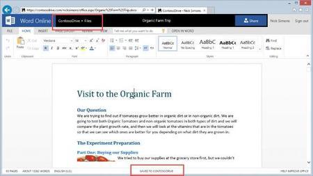 Office integra más servicios de almacenamiento en su versión Online y en sus aplicaciones de iOS