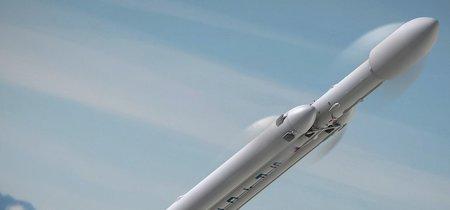 SpaceX enciende por primera vez uno de los motores del Falcon Heavy, el cohete que llevará al hombre a Marte