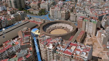 Valencia en Mapas Bing