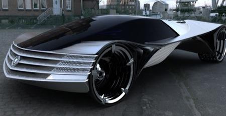 Cadillac WTF, el prototipo extraño del día