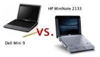 Dell Mini 9 vs HP MiniNote 2133