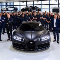 El Bugatti Chiron número 250 sale de la línea de producción y cada vez hay menos ejemplares disponibles para venta