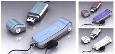 Disco USB con VoIP de Ubistar