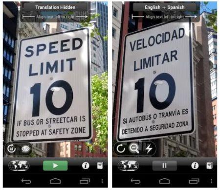 Word Lens, el traductor de realidad aumentada llega a Android