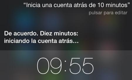 Siri Cuenta Atras