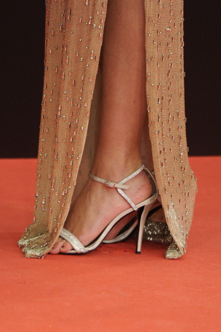 Goya 2013, los zapatos y las sandalias que se escondían tras los vestidos de fiesta: ¿cuáles triunfaron?