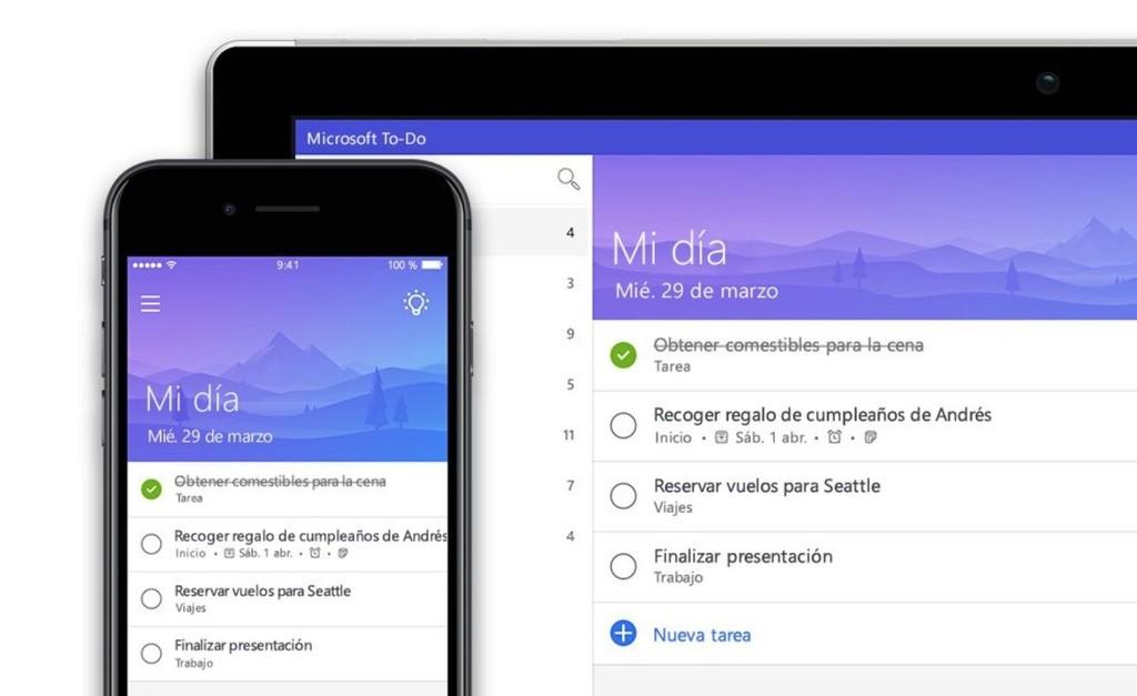 Microsoft actualiza su app para gestión de la agenda: ahora podemos designar tareas en listas compartidas