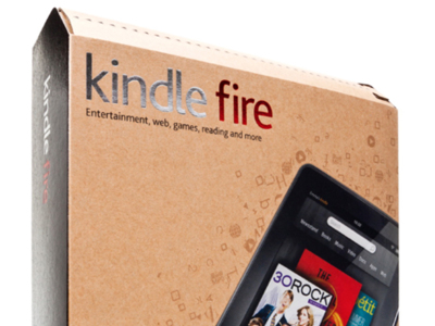El Kindle Fire funciona para Amazon