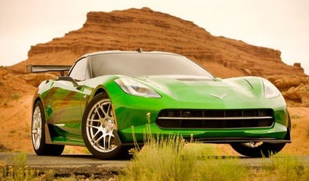 Chevrolet Corvette Stingray Transformers 4