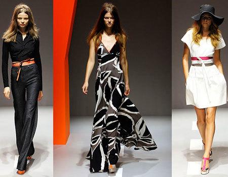 DKNY en la Semana de la Moda de Nueva York Primavera-Verano 2008