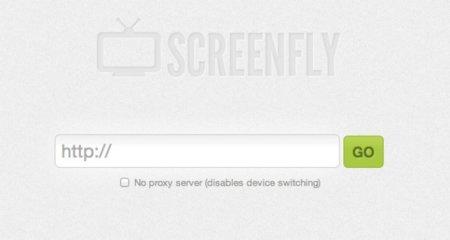 Screenfly, aplicación web para visualizar tus diseños en diferentes navegadores
