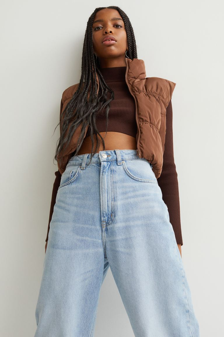 Chaleco cropped