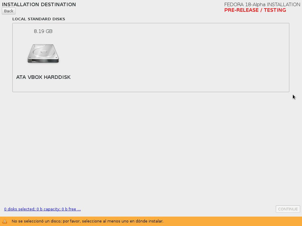 Instalación de Fedora 18