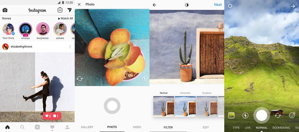 Instagram Capturas Pantalla Aplicacion