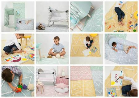 Alfombras lavables para niños: ¡qué gran idea!