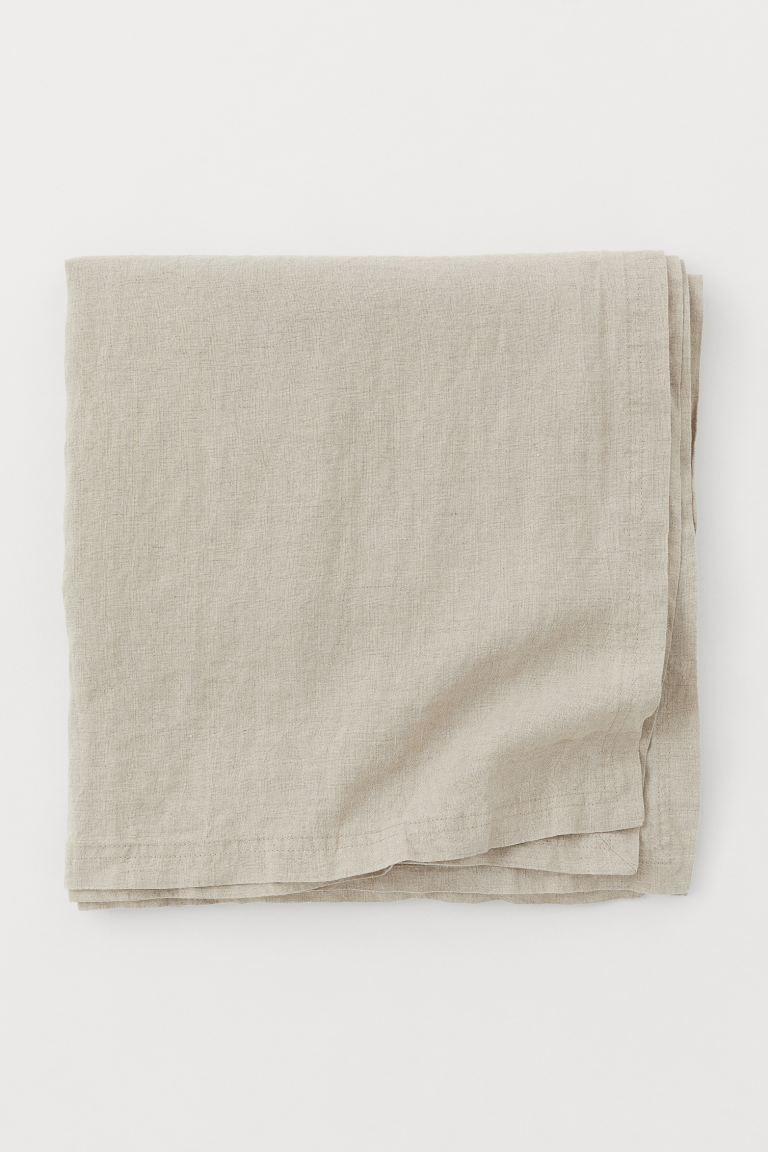 Mantel en lino lavado