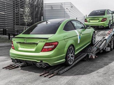 Mercedes C63 AMG Coupe Legacy Edition, merece la pena que lo veas por las fotos de cómo se fabrica