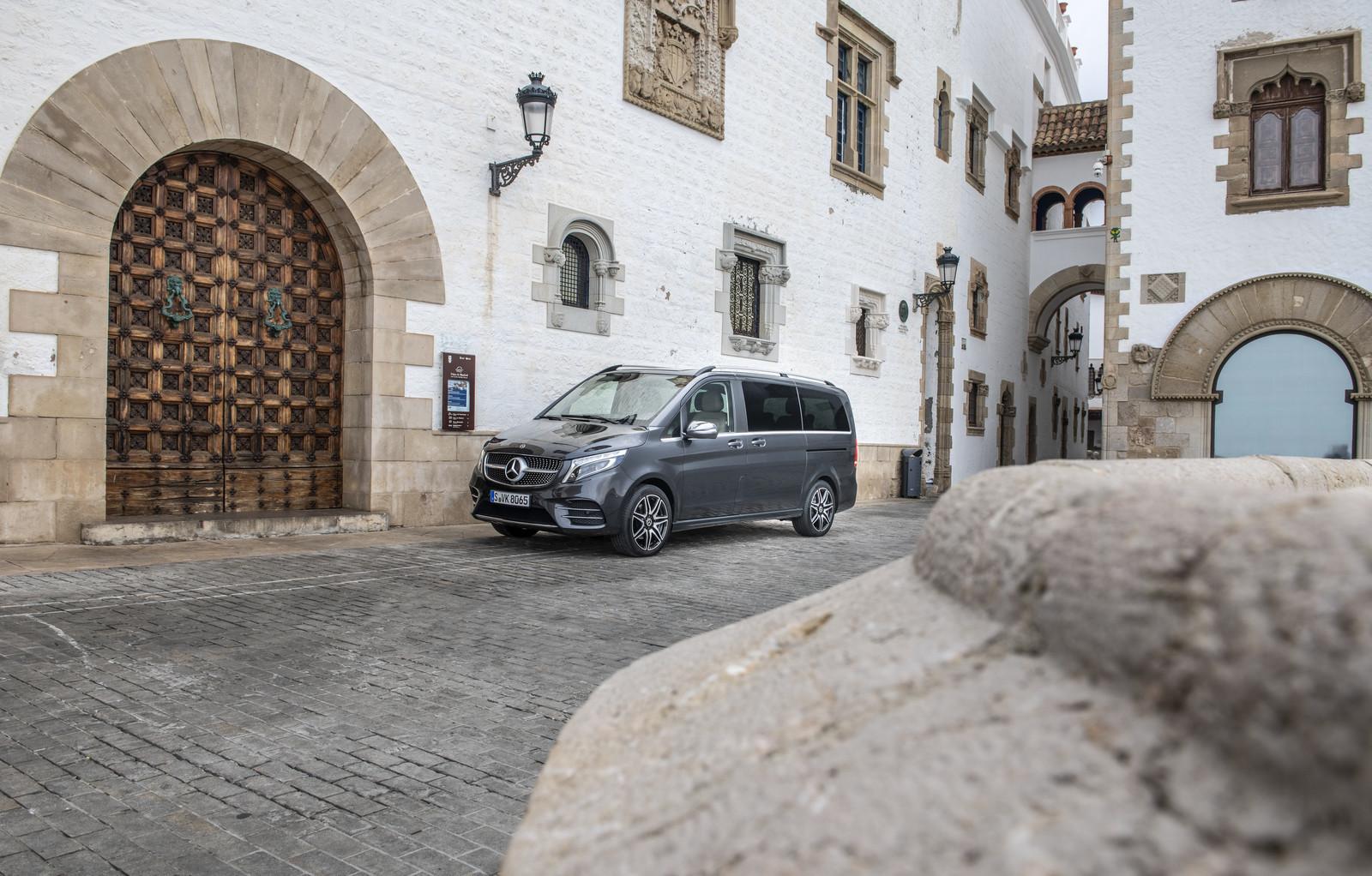 Foto de Mercedes-Benz Clase V 2019 (55/92)