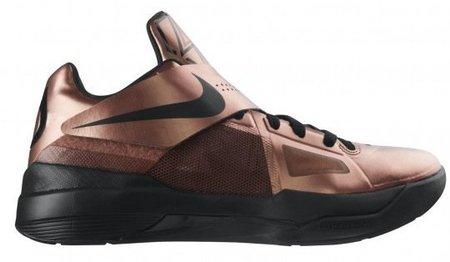 Viste tus pies de cobre con las Nike Zoom KD IV