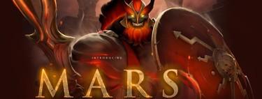 Así se juega Mars: analizamos la primera semana de vida del nuevo héroe en Dota 2