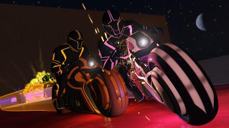 No te pases de la raya es el nuevo modo de GTA Online inspirado en las espectaculares carreras de Tron