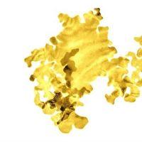 El oro sin soporte más fino jamás creado solo tiene dos átomos de espesor