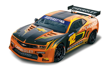 Un Chevrolet Camaro para las Superstars Series