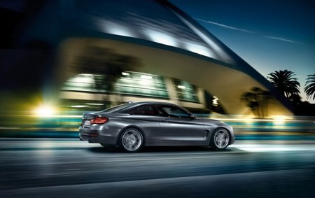 BMW Serie 4 Coupé Trasera
