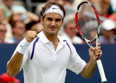 Roger Federer le pide encargo a la cigüeña otra vez