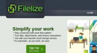 Filelize: sincronización automática de tus archivos más recientes