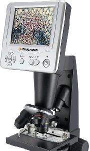 Microscopio digital con pantalla LCD