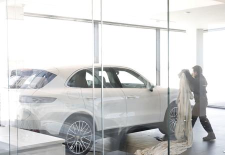 Porsche sala entrega coches Madrid Norte