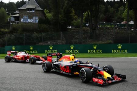 Verstappen Raikkonen Spa