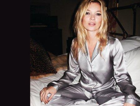 Kate Moss para Topshop, Otoño-Invierno 2010/2011 pijama