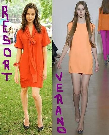 Naranja: el color del verano 2008 y el resort 2009