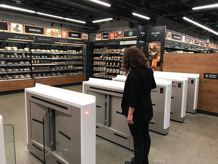 Amazon Go Cajero