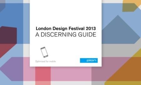 Una buena guía para no perder detalle del Festival de Diseño de Londres esta semana