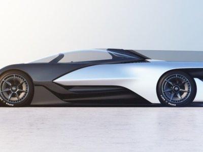 El FFZERO1 de Faraday Future sale a la luz y hace el batmóvil realidad