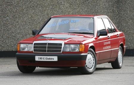Mercedes 190 E Elektro 2