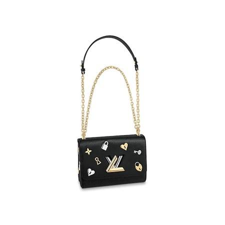 Louis Vuitton Bolso Twist Mm Piel Epi Bolsos M52891 Pm2 Front View